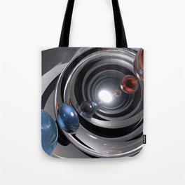Abstract Camera Lens Tote Bag
