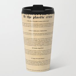 The Powerful Magpie & The Plastic Crow Metal Travel Mug