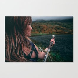 Beyond The Loch Canvas Print