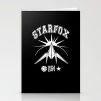 starfox Stationery Cards featuring STARFOX! by John Medbury (LAZY J Studios)