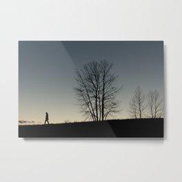 we bury our trees Metal Print
