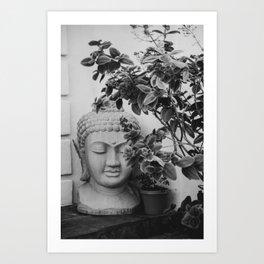 SoCal Buddha Head Art Print