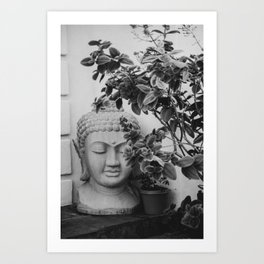 SoCal Buddha Head Art Print