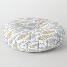 shoal of herring Floor Pillow
