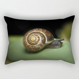 Garden snail Rectangular Pillow