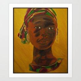 African Sunshine Art Print