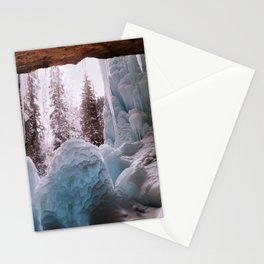 Hanging Lake Spouting Rock at Glenwood Canyon Glenwood Spring Area Colorado. Stationery Cards