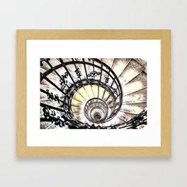 The Spiral Staircase Framed Art Print