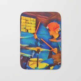 The Drummer Bath Mat