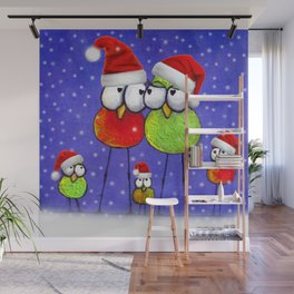 Tis' The Season Wall Mural