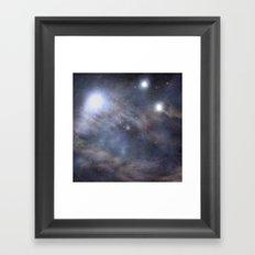 Nebula Framed Art Print