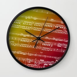 Concerto for Double Bass Wall Clock