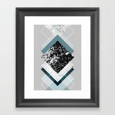 Geometric Textures 8 Framed Art Print