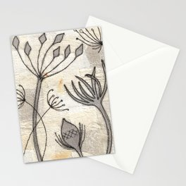 Seedheads Stationery Cards