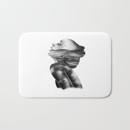 Dissolve // Illustration Bath Mat