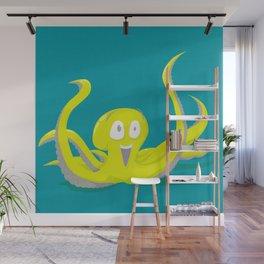 I Am An Octopus! Wall Mural
