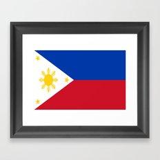 Flag of the Philippines Framed Art Print