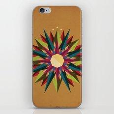 Half Circle Stars iPhone & iPod Skin
