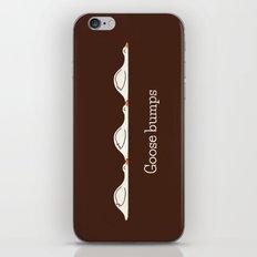 Goose Bumps iPhone Skin