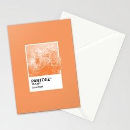 Pantone Series – Coral Reef Stationery Cards