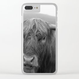 Highland cow I Clear iPhone Case