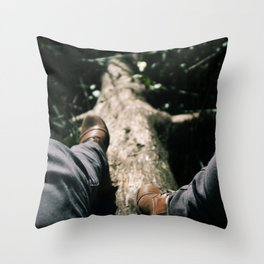 Over Troubled Waters Throw Pillow
