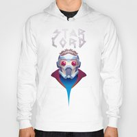 starlord Hoodies featuring Who? Starlord by Fenomeno