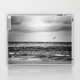 Stormy Beach Laptop & iPad Skin