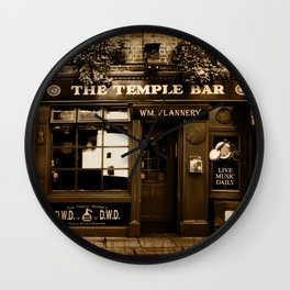 The Temple Bar Wall Clock