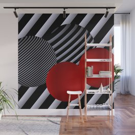shining geometry Wall Mural