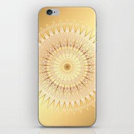 Gold Mandala iPhone Skin