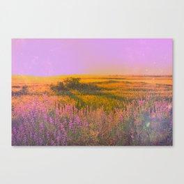 Purple Chill Canvas Print