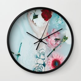 Bath art Wall Clock