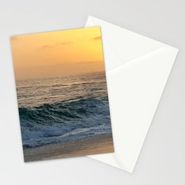 SMOOTH WAVE SUNSET Stationery Cards