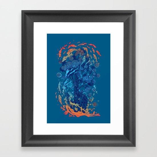 point of infinity Framed Art Print