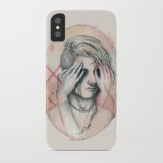 14/02 : Love is a blind iPhone X Slim Case