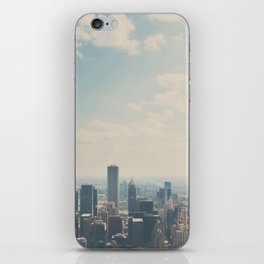 Looking down on the city ... iPhone Skin