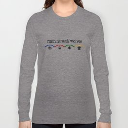 Running With Wolves v2 Long Sleeve T-shirt