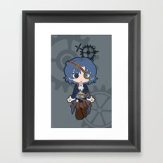 Steampunk Sailor Mercury Framed Art Print