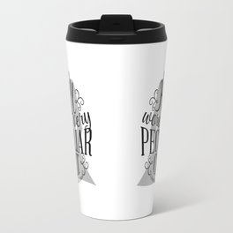 Peculiar (on light) Travel Mug