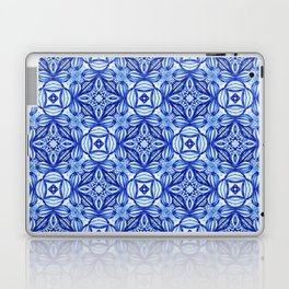 For the Love of Blue - Pattern 372 Laptop & iPad Skin