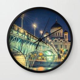 Patriarshy Bridge Wall Clock