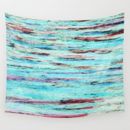 Color gradient and texture 33 Wall Tapestry