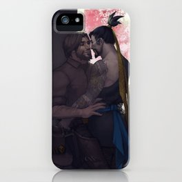 Stealing a moment iPhone Case