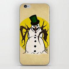 Sinister Snowman iPhone & iPod Skin