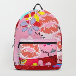 Butterflies and Kisses Backpack
