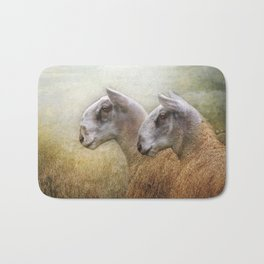 Golden Fleece Bath Mat