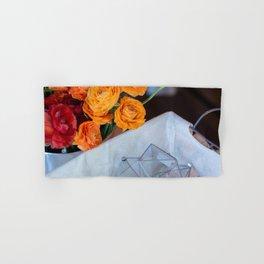 flower photography by Fabio Issao Hand & Bath Towel
