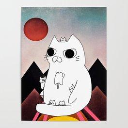 cat mountain 240 Poster
