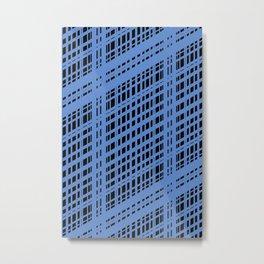 Crossed Metal Print